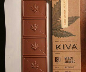 chocolate, cannabis, and weed image