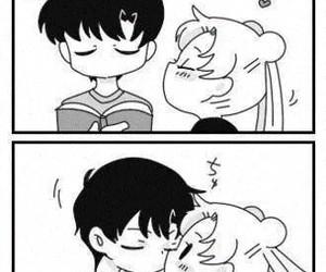 anime, kawaii, and tuxedo mask image
