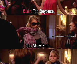 gossip girl, blair waldorf, and beyoncé image