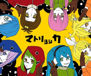 kaito, meiko, and rin image