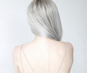 hair, aesthetic, and white image