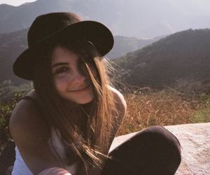 girl, willa holland, and hat image