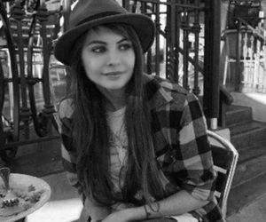 willa holland and black and white image