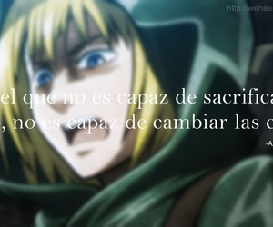 anime, frases, and snk image