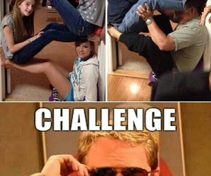 challenge, funny, and familly image