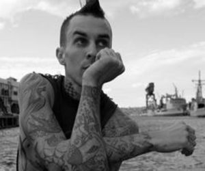 blink 182, tattoo, and travis barker image