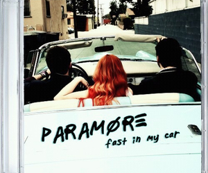paramore and fast in my car image