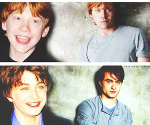 daniel radcliffe, harry potter, and rupert grint image