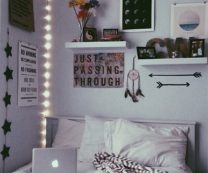 bedroom, chill, and lights image