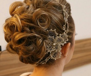 classy, hair style, and elegant image