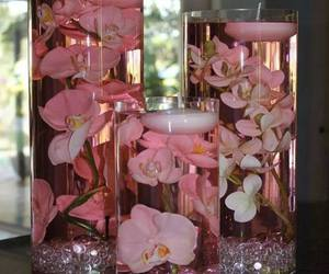 centerpiece, glass, and cute image