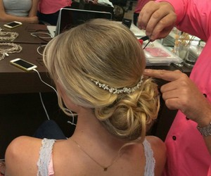 classy, elegant, and hair accessories image