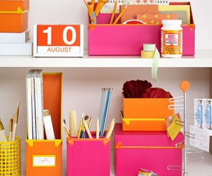 desk accessories, apartment decor, and work space image