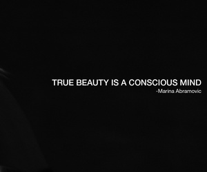 beauty, MARINA ABRAMOVIC, and mind image