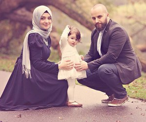 family, muslim, and couple image