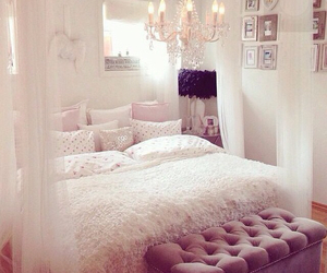 beautiful, classic, and bedroom image