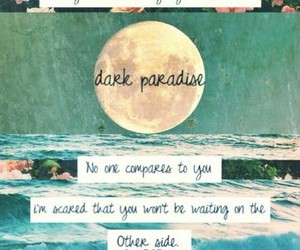 dark, lanadelrey, and heart image