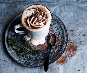 cappuccino and winter image