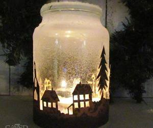 candle, christmas, and tree image