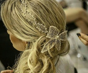 amazing, hair accessories, and hair style image