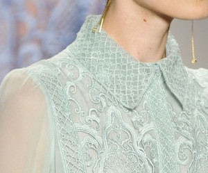 blouse, catwalk, and detail image