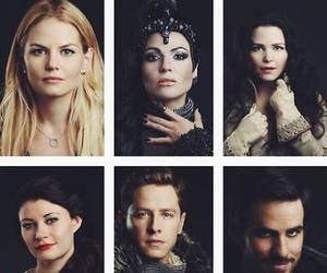 belle, once upon a time, and emma swan image