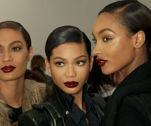 model, Chanel Iman, and Jourdan Dunn image