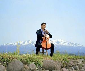 cello, departures, and okuribito image