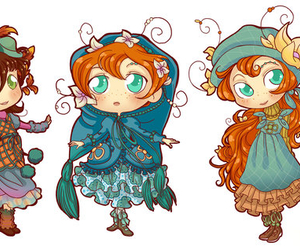 chibi, fairy oak, and vanilla image
