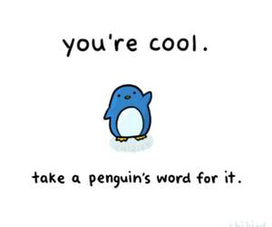 penguin, cool, and cute image