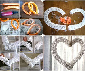 decoration, diy, and heart image