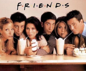 friends, monica, and tv image