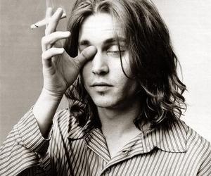 johnny depp and cigarette image
