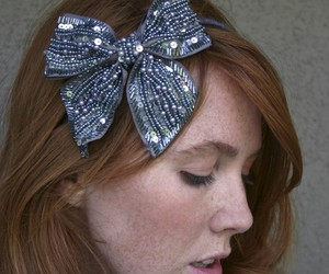 awesome, bow, and hair image