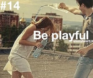 love, boy, and playful image