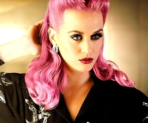 katy perry, pink, and pink hair image