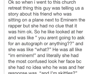 autograph, eminem, and funny image