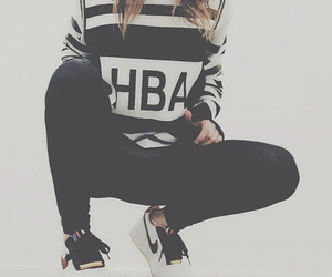 hipster, nike, and ootd image