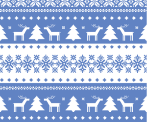 christmas, winter, and pattern image