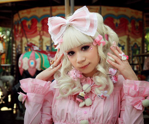 *-*, asian, and sweet lolita image