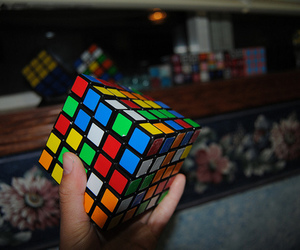 photography and cube image