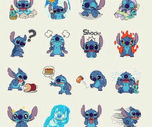background, disney, and stich image