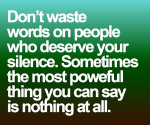 quotes, silence, and words image