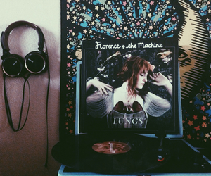 disc, florence and the machine, and moon image