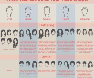 hair, haircut, and face shape image
