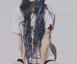 boots, grunge, and hair image
