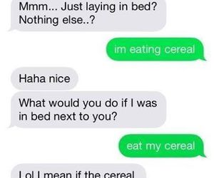 boys, cereal, and funny image