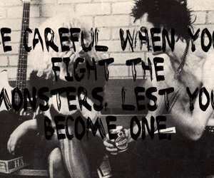 black and white, quote, and sid vicious image