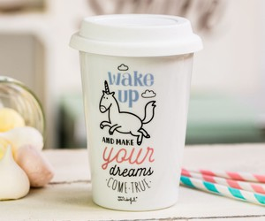 unicorn, coffee, and Dream image