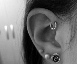 ear, piercing, and loveit image